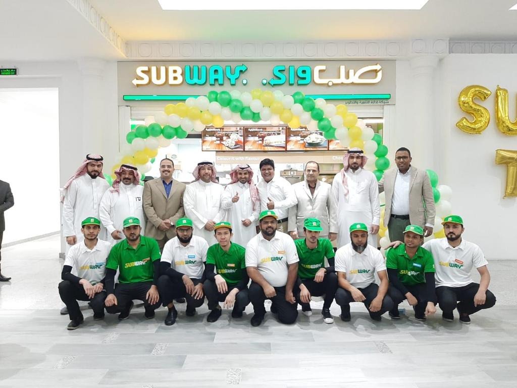 Subway Tera Mall opens